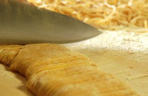 Ristorante Piperno, tagliolini fatti a mano