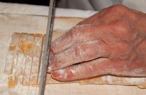 Ristorante Piperno, la pasta tirata a mano