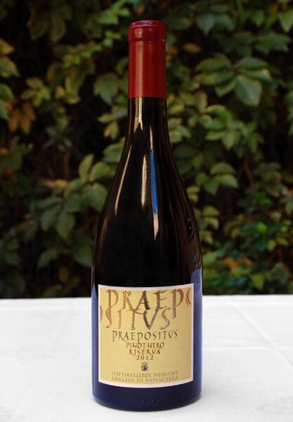 Ristorante Piperno, i vini, Praepositus Pinot Nero Riserva