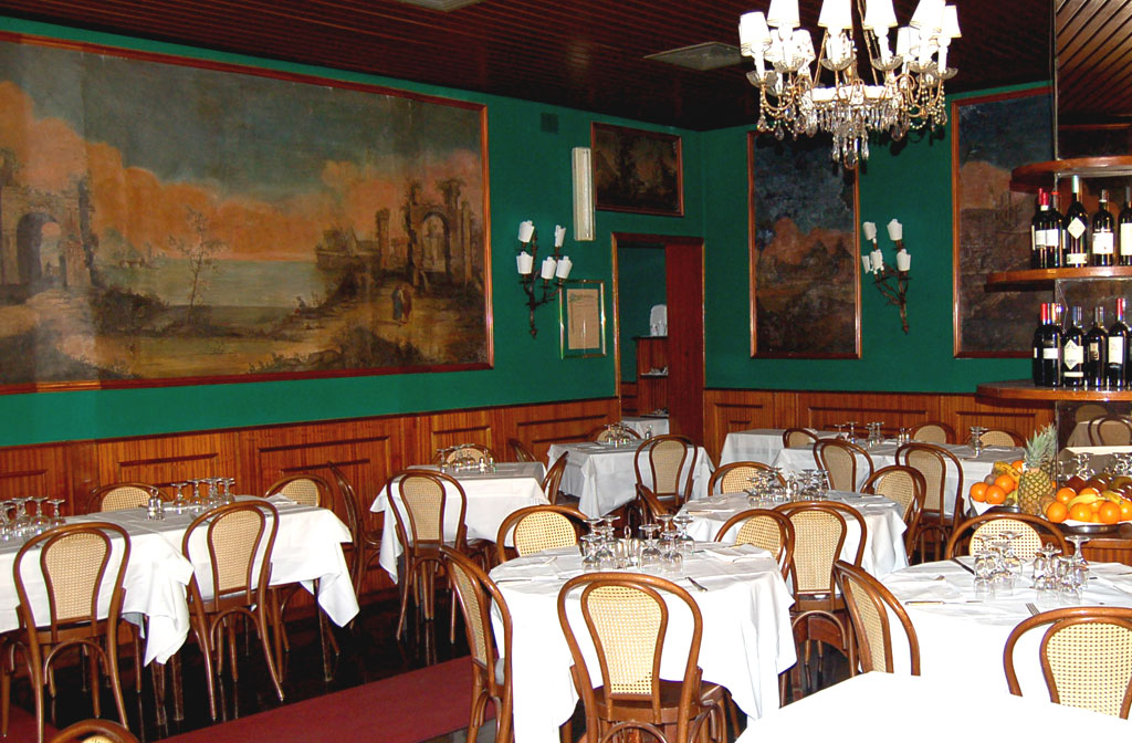 Ristorante Piperno, sala principale